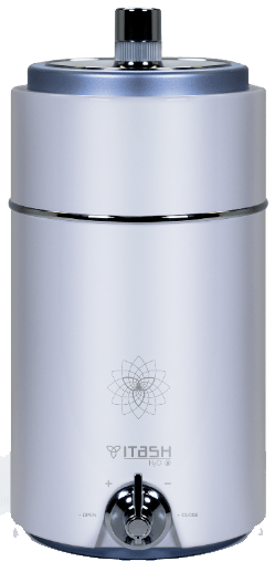 Itash H2o is a machine that ionizes water, if you want to know more about it, do not hesitate to visit its space on our website.
