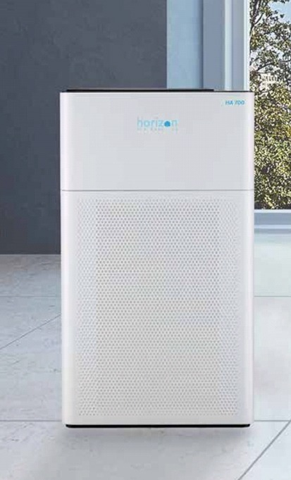An air purifier is the perfect tool to clean the air after measuring it.