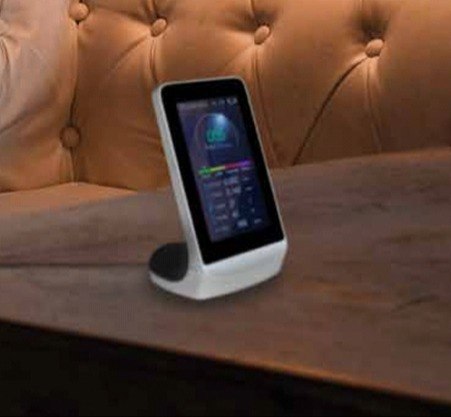 Hac Star is your new device to measure the quality of the air in your home.