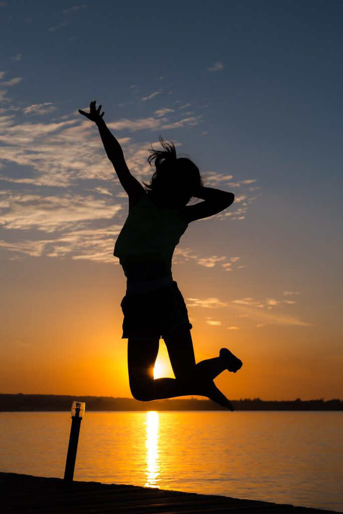 Vitality thanks to drinking osmotic water
